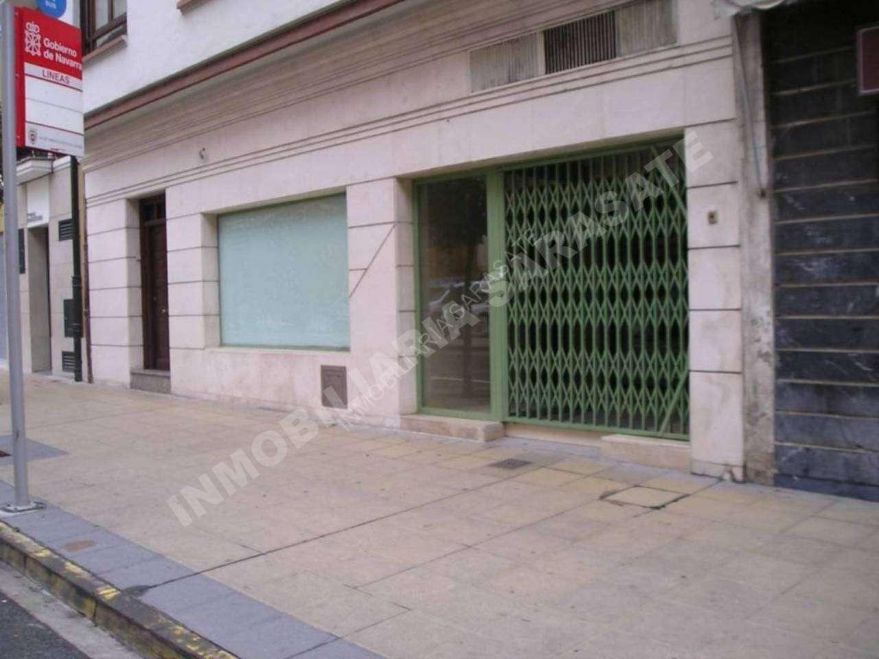 ALQUILER DE LOCAL COMERCIAL EN CALLE PASEO INMACULADA, ESTELLA-LIZARRA | REF. (000501)
